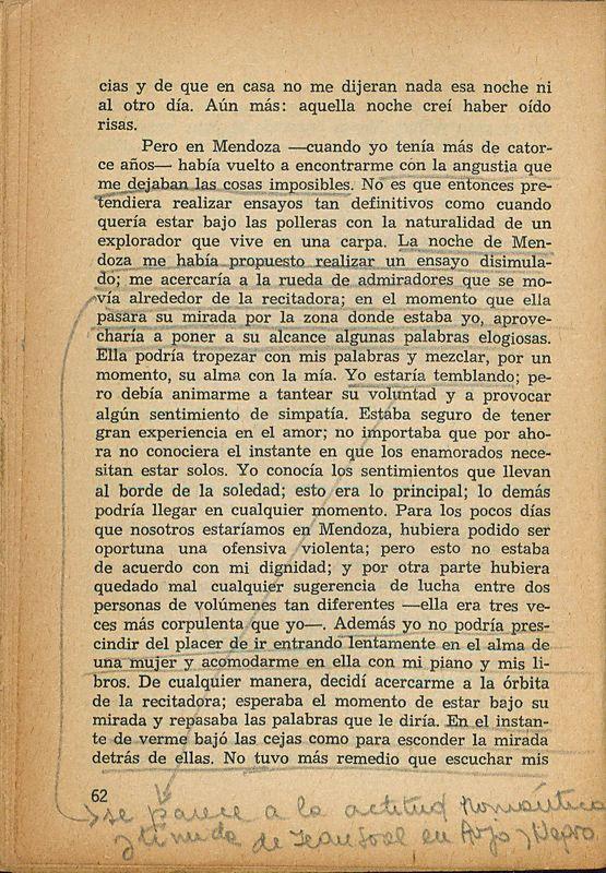Tierras de la memoria | Shelfnum : FH-AA1-01 | Page : 62 | Content : facsimile