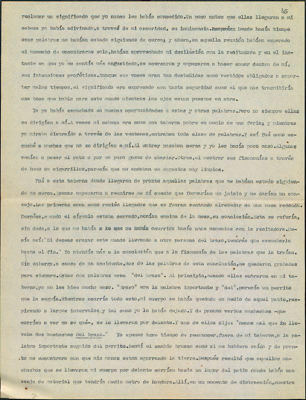 Tierras de la memoria [F2]   Shelfnum : FH-AA1-01-F2   Page : 29   Content : facsimile