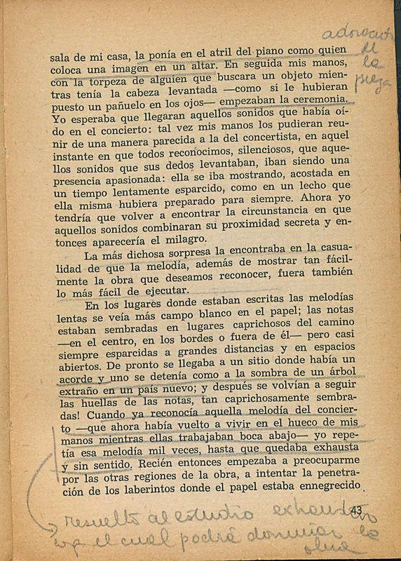 Tierras de la memoria | Shelfnum : FH-AA1-01 | Page : 43 | Content : facsimile