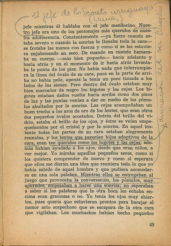 Tierras de la memoria | Shelfnum : FH-AA1-01 | Page : 49 | Content : facsimile