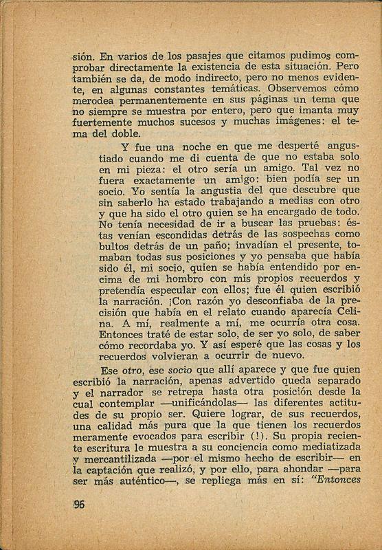 Tierras de la memoria | Shelfnum : FH-AA1-01 | Page : 96 | Content : facsimile
