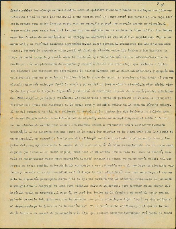 Tierras de la memoria [F2]   Shelfnum : FH-AA1-01-F2   Page : 23   Content : facsimile
