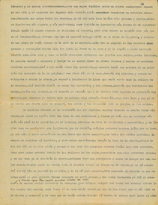 Tierras de la memoria [F4]   Shelfnum : FH-AA1-01-F4   Page : 1   Content : facsimile