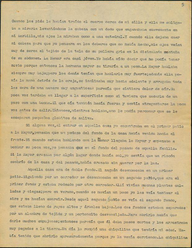 Tierras de la memoria [F1] | Shelfnum : FH-AA1-01-F1 | Page : 5 | Content : facsimile