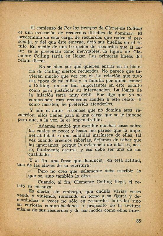Tierras de la memoria | Shelfnum : FH-AA1-01 | Page : 85 | Content : facsimile