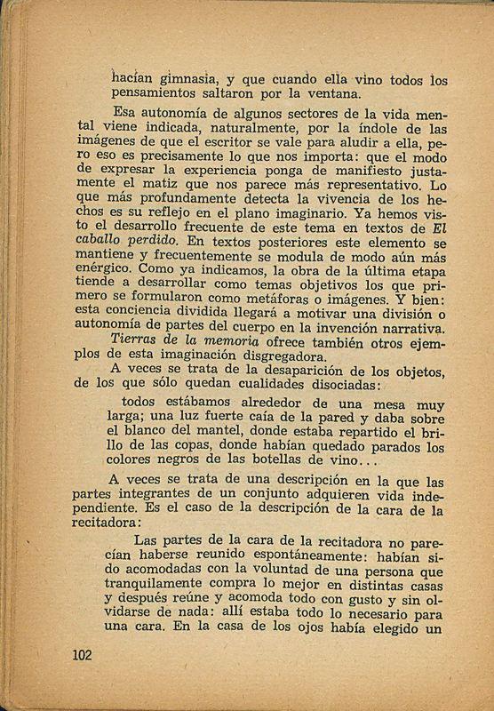 Tierras de la memoria | Shelfnum : FH-AA1-01 | Page : 102 | Content : facsimile