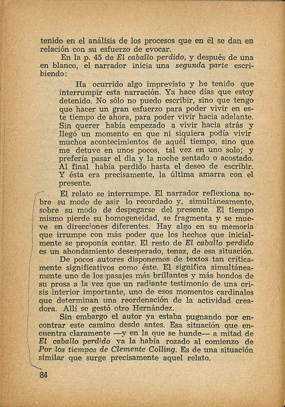 Tierras de la memoria | Shelfnum : FH-AA1-01 | Page : 84 | Content : facsimile