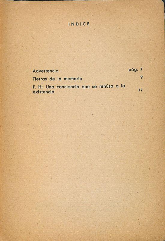 Tierras de la memoria | Shelfnum : FH-AA1-01 | Page : 129 | Content : facsimile
