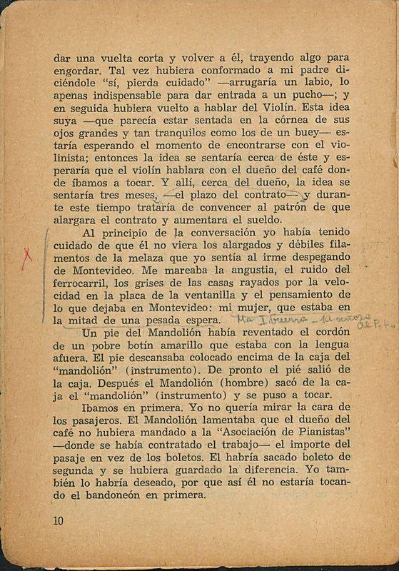 Tierras de la memoria | Shelfnum : FH-AA1-01 | Page : 10 | Content : facsimile