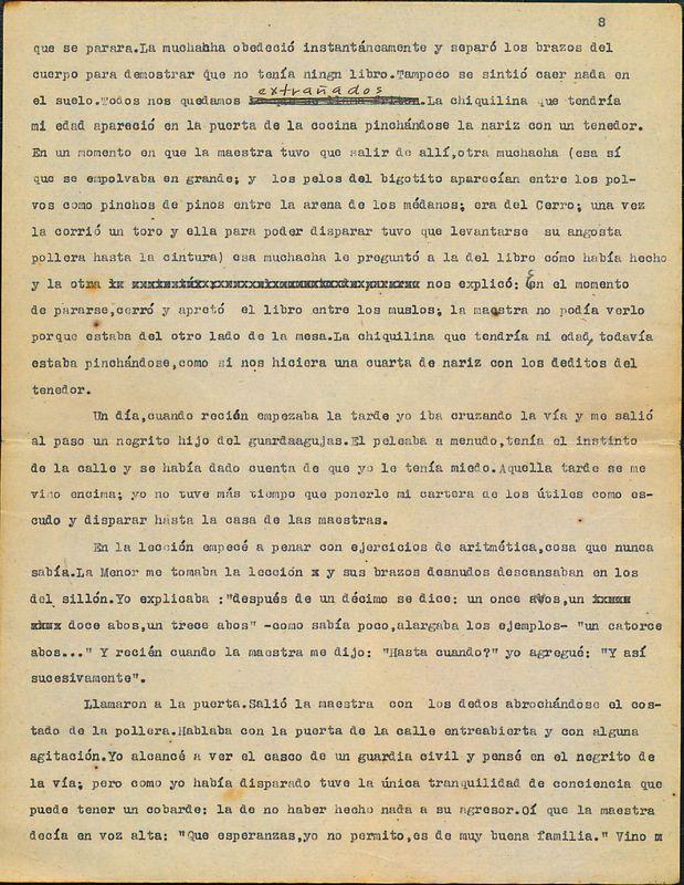 Tierras de la memoria [F1] | Shelfnum : FH-AA1-01-F1 | Page : 8 | Content : facsimile