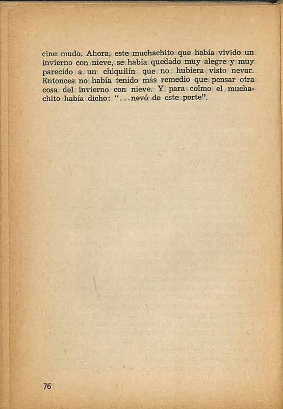 Tierras de la memoria | Shelfnum : FH-AA1-01 | Page : 76 | Content : facsimile