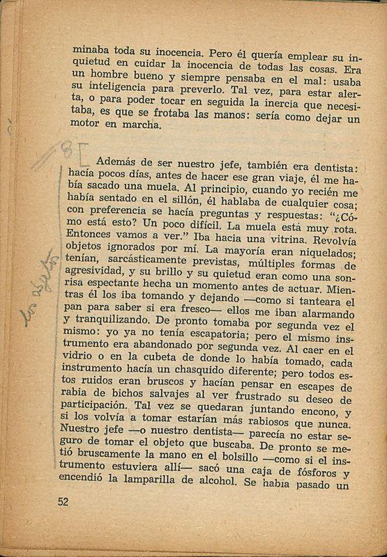 Tierras de la memoria | Shelfnum : FH-AA1-01 | Page : 52 | Content : facsimile