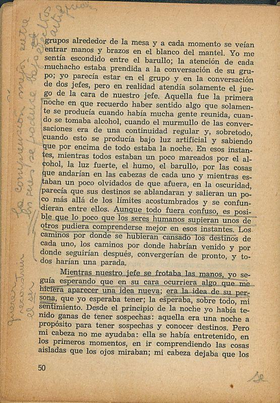 Tierras de la memoria | Shelfnum : FH-AA1-01 | Page : 50 | Content : facsimile