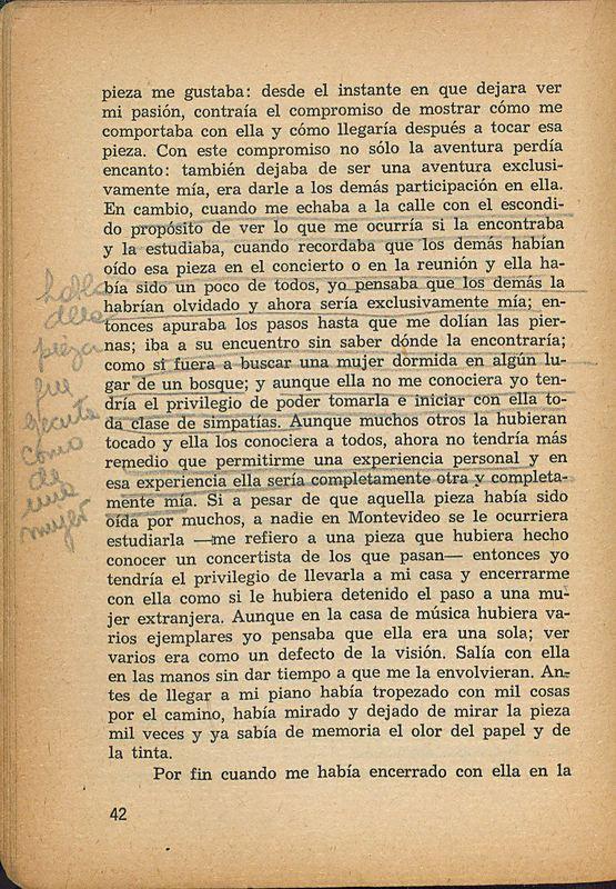 Tierras de la memoria | Shelfnum : FH-AA1-01 | Page : 42 | Content : facsimile