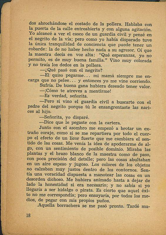 Tierras de la memoria | Shelfnum : FH-AA1-01 | Page : 18 | Content : facsimile