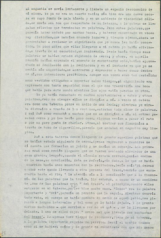 Tierras de la memoria [F6] | Shelfnum : FH-AA1-01-F6 | Page : 27 | Content : facsimile
