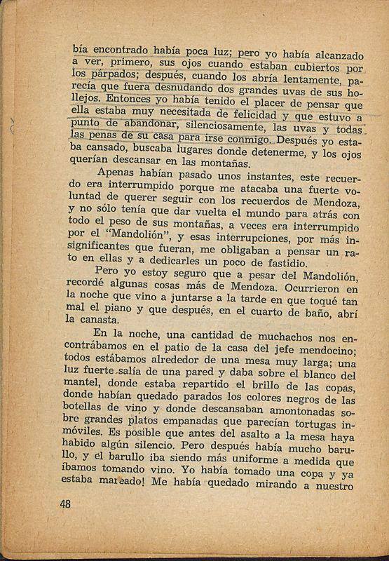 Tierras de la memoria | Shelfnum : FH-AA1-01 | Page : 48 | Content : facsimile