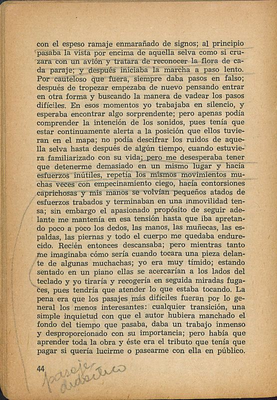 Tierras de la memoria | Shelfnum : FH-AA1-01 | Page : 44 | Content : facsimile