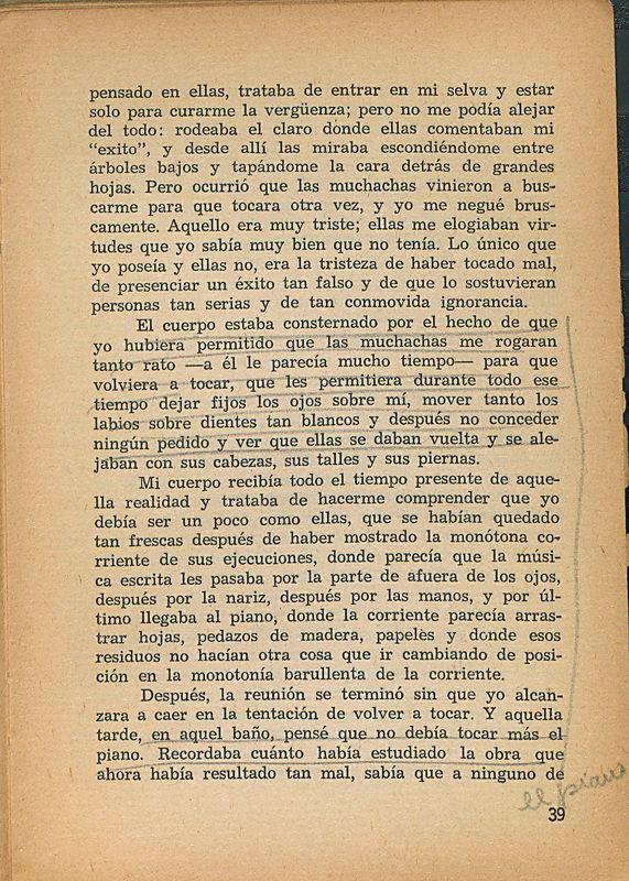 Tierras de la memoria | Shelfnum : FH-AA1-01 | Page : 39 | Content : facsimile