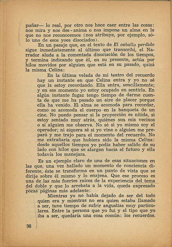 Tierras de la memoria | Shelfnum : FH-AA1-01 | Page : 98 | Content : facsimile