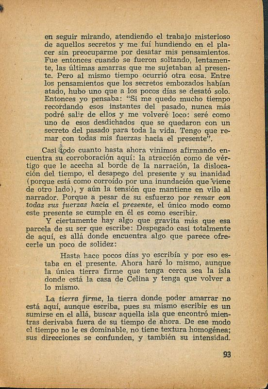 Tierras de la memoria | Shelfnum : FH-AA1-01 | Page : 93 | Content : facsimile