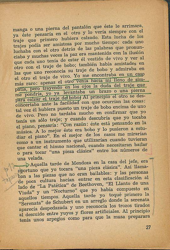Tierras de la memoria | Shelfnum : FH-AA1-01 | Page : 27 | Content : facsimile