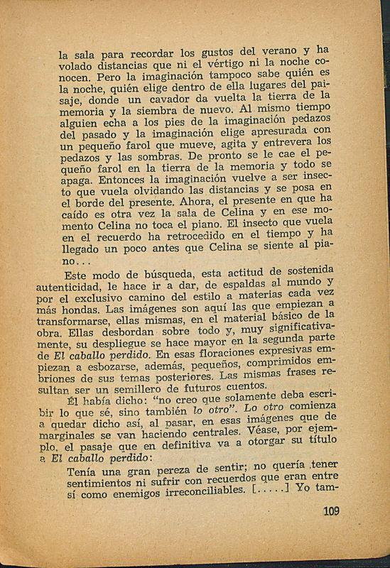 Tierras de la memoria | Shelfnum : FH-AA1-01 | Page : 109 | Content : facsimile