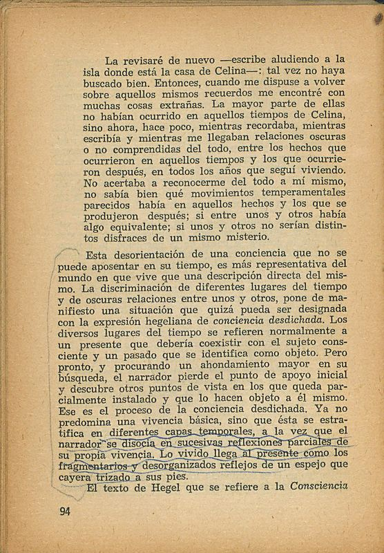 Tierras de la memoria | Shelfnum : FH-AA1-01 | Page : 94 | Content : facsimile