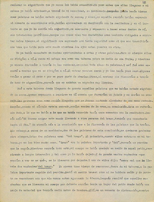 Tierras de la memoria [F4]   Shelfnum : FH-AA1-01-F4   Page : 5   Content : facsimile