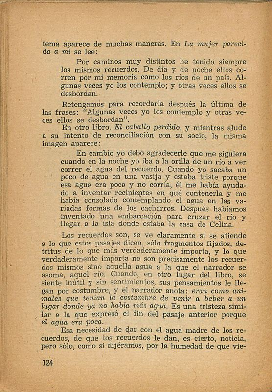 Tierras de la memoria | Shelfnum : FH-AA1-01 | Page : 124 | Content : facsimile