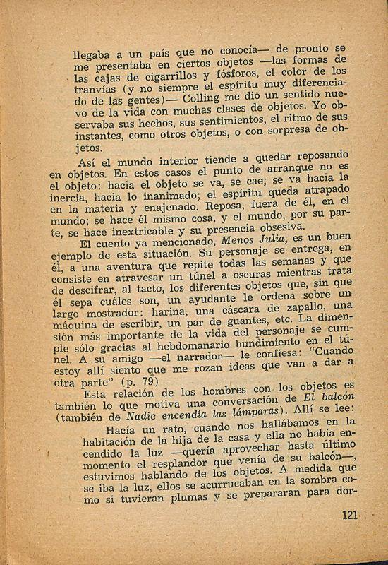 Tierras de la memoria | Shelfnum : FH-AA1-01 | Page : 121 | Content : facsimile