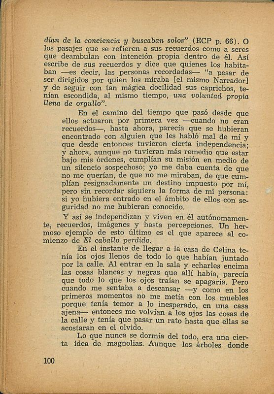 Tierras de la memoria | Shelfnum : FH-AA1-01 | Page : 100 | Content : facsimile