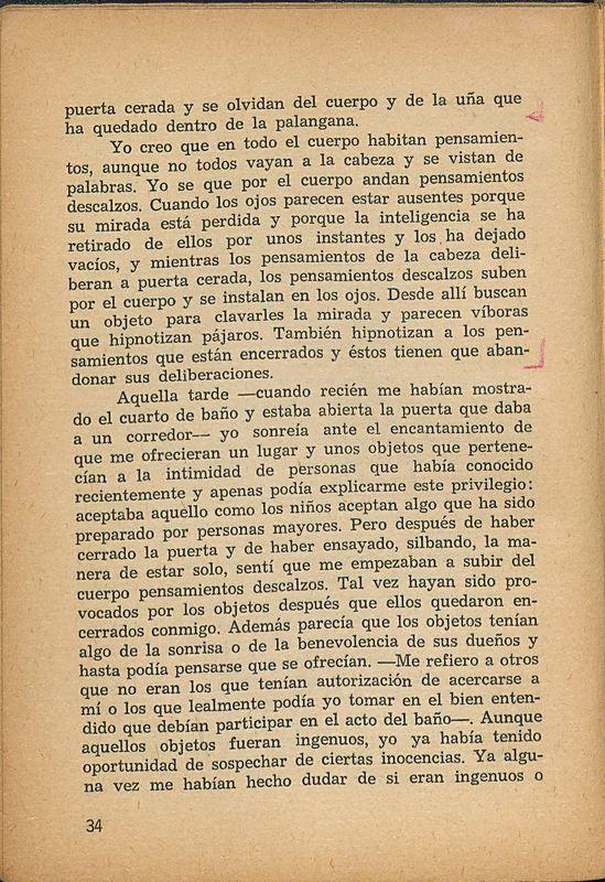 Tierras de la memoria | Shelfnum : FH-AA1-01 | Page : 34 | Content : facsimile
