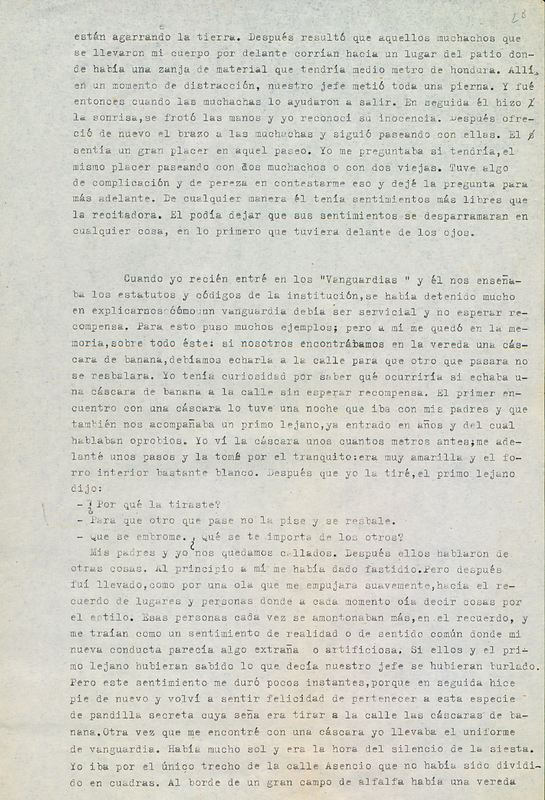 Tierras de la memoria [F6] | Shelfnum : FH-AA1-01-F6 | Page : 28 | Content : facsimile