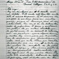 [Che viejo : Hoy me disculpará que le escriba cual un volátil.] | Shelfnum : FH-B-1940-03-23 | Page : 1 | Content : facsimile