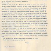 [París, julio 5 de 1947. Te mando esa carta de Mabel] | Shelfnum : FH-B-1947-07-05 | Page : 1 | Content : facsimile