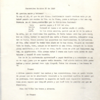 [Montevideo Octubre 22 de 1948. Mi querira marre y helmano: Ya soy el 46, el que va por Minas.]   Shelfnum : FH-B-1948-10-22