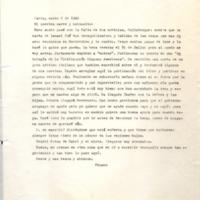 [París, marzo 6 de 1948. Mi querira marre y helmanito: Buen susto pasé con la falta de tus noticias, Calistroque]   Shelfnum : FH-B-1948-03-06
