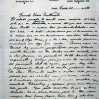 [Grande Vasco Brillante : El sábado pasado le escribí] | Shelfnum : FH-B-1940-01-20 | Page : 1 | Content : facsimile