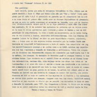 "[A bordo del ""Formose"" Octubre 21 de 1946] | Shelfnum : FH-B-1946-10-21 | Page : 1 | Content : facsimile"