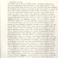 [París marzo 18 de 1947. Mis queridos: pasé 10 dás en Blois] | Shelfnum : FH-B-1947-03-18 | Page : 1 | Content : facsimile