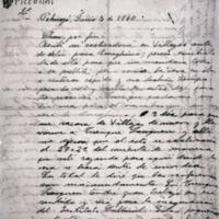 "[Chau, por fin : Recibí su ""rastreadora"" en Villegas] | Shelfnum : FH-B-1940-06-05 | Page : 1 | Content : facsimile"