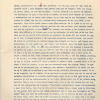 [París, diciembre 25 de 1946. Mis queridos: Por fin una carta de Uds.] | Shelfnum : FH-B-1946-12-25 | Page : 1 | Content : facsimile