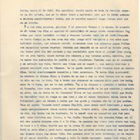 [París, enero 27 de 1947. Mis queridos: Recibí carta de toda la familia] | Shelfnum : FH-B-1947-01-27 | Page : 1 | Content : facsimile