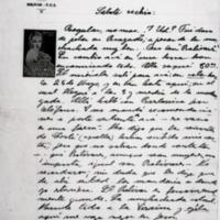 [Salute vechio : Regular, no mas.] | Shelfnum : FH-B-1940-07-25 | Page : 1 | Content : facsimile